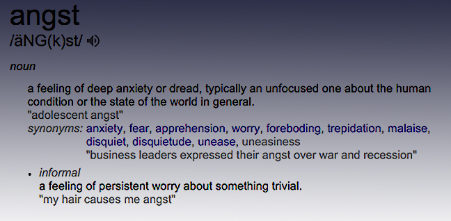 definition.angst