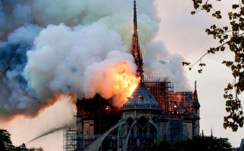 Notre Dame is BurningDown